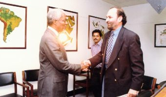 Saeed Naqvi interview with Kofi Annan on various UN steps to maintain peace in war zones.